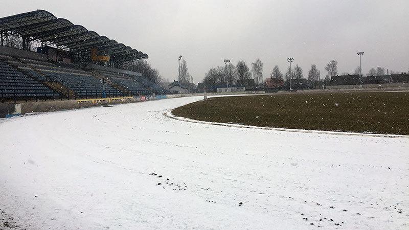 Трек стадиона (фото от 14 марта)